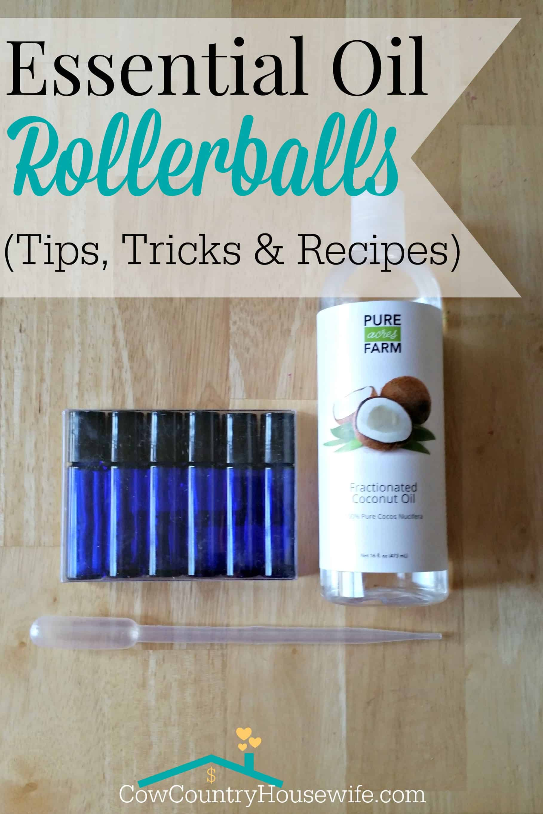 How To Make Essential Oil Roller Bottles At Home