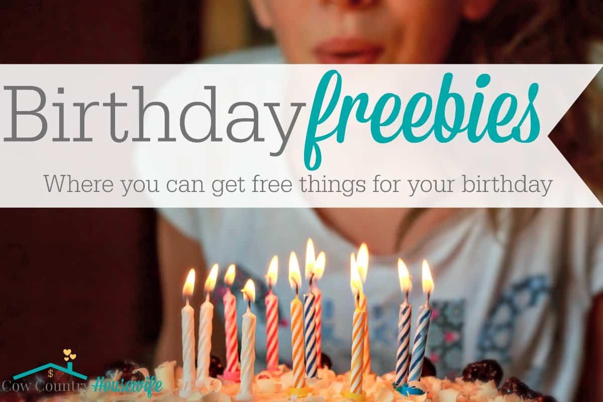 birthday freebies illinois