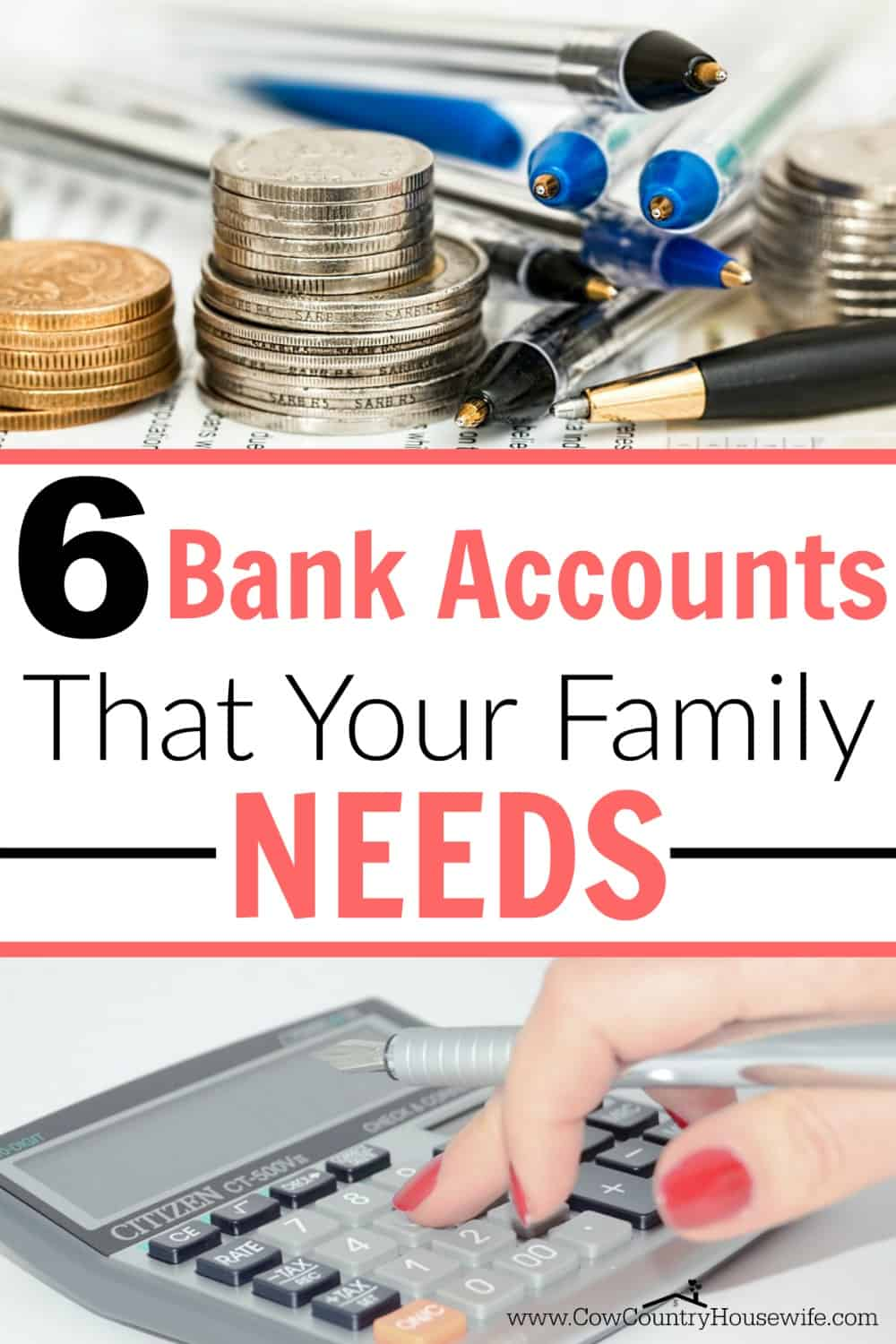 The 6 Bank Accounts that Your Family NEEDS - Caroline Vencil