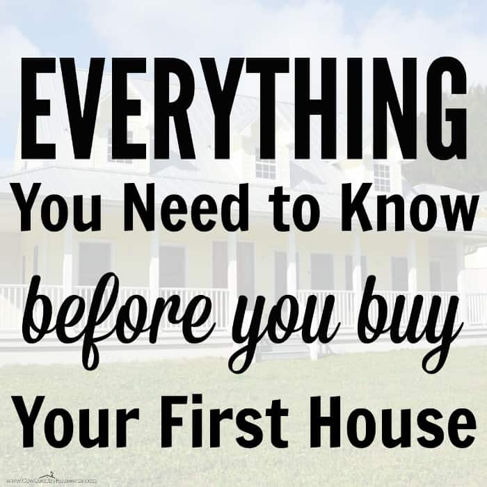 Practical frugal guide to home buying caroline vencil for Things you need for a house