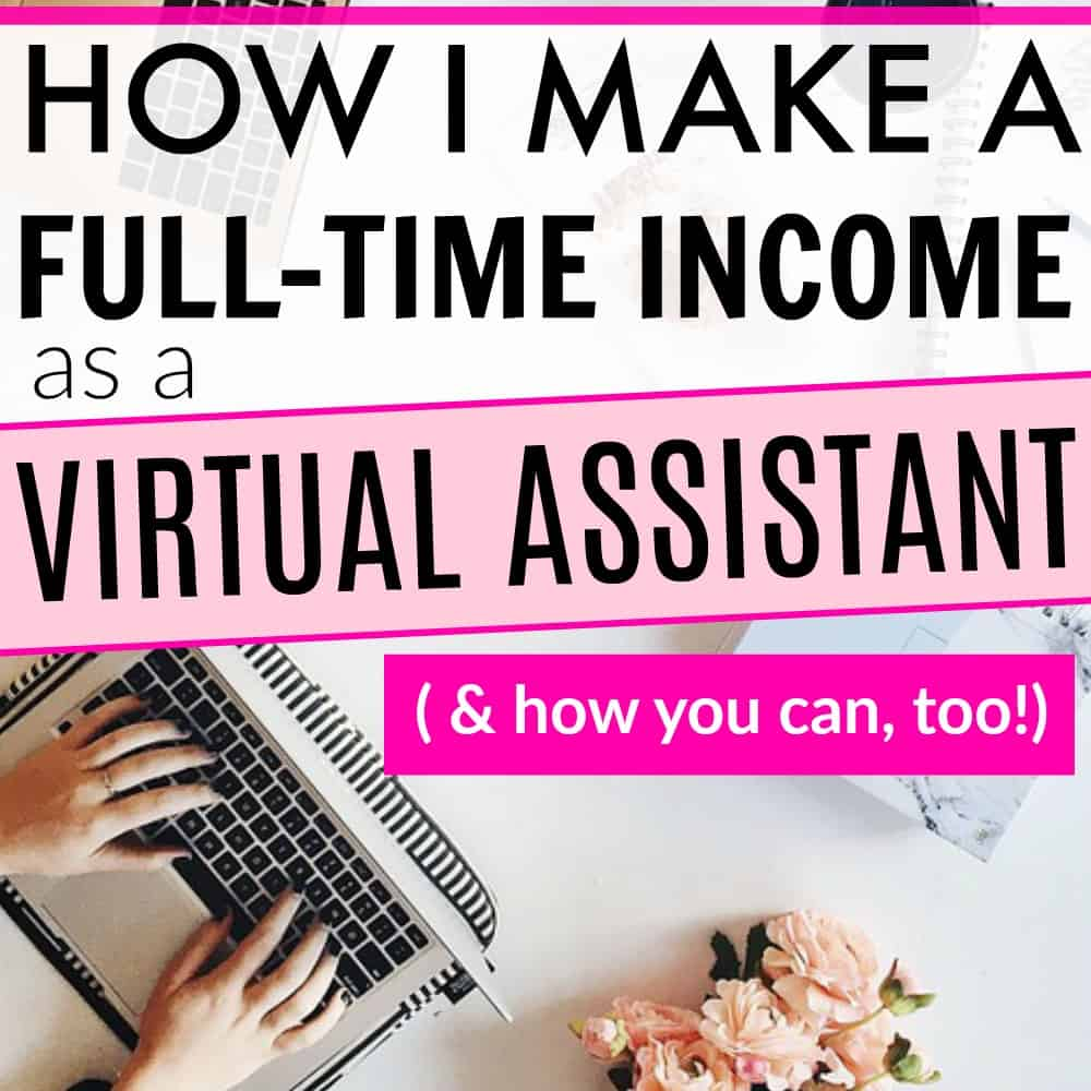 Make 40000 per year from home as a bookkeeper caroline vencil how to become a virtual assistant and make a full time income doing it 1betcityfo Image collections
